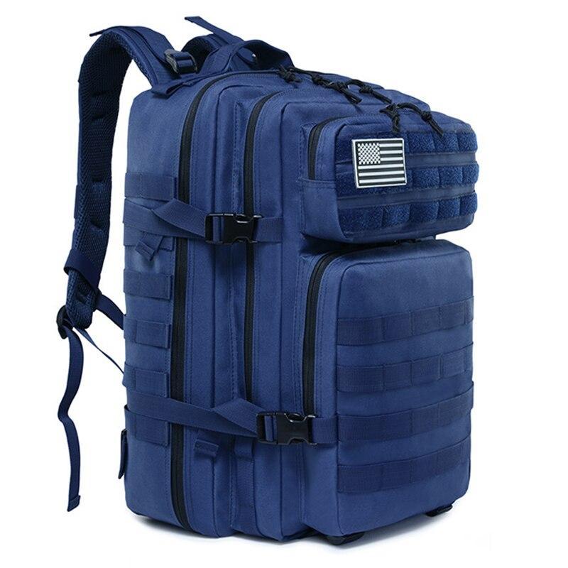 45L militaire tactique sac à dos Molle armée assaut sac randonnée Camping chasse sac à dos en plein air EDC étanche sac voyage sac à dos