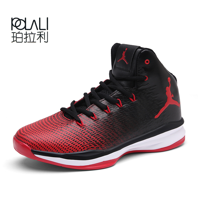 10076501998d0d POLALI Hot Sale Men Basketball Shoes Breathable Sport Shoes Outdoor  Sneakers Calzado de baloncesto masculino Basket Homme-in Basketball Shoes  from Sports ...