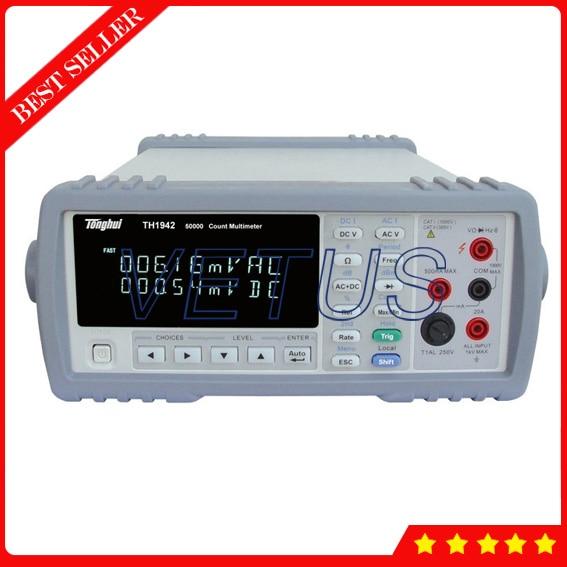 TH1942 RS232C interface de communication meilleur chine Multimete de testeur de multimètre numérique
