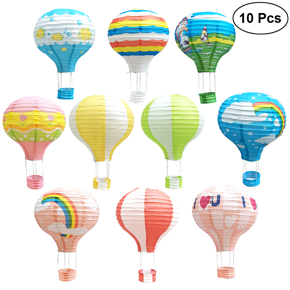 Paper Lanterns Wedding Decoration Ideas: 10Pcs 12 Inch Paper Lanterns Party Decorations Hanging