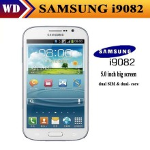 "Original Dual SIM Samsung Galaxy Grand I9082 android 4.1 mobile phone 5.0"" touch+8.0 MP+WIFI+GPS Free shipping Refurbished"