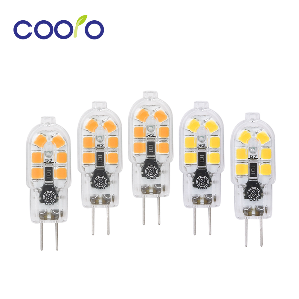5PCS/lot Mini LED Lamp G4 G9 High Bright Lampada LED 220V SMD2835 Bombillas LED Bulb 360 Degree Ampoule White Warm White