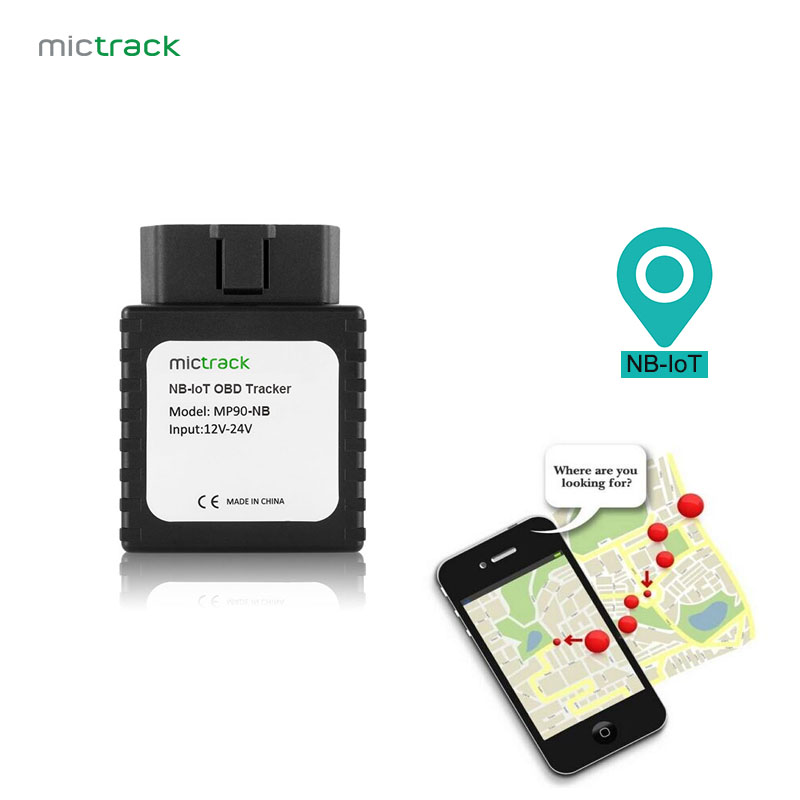 Mictrack NB-IoT OBD GPS Tracker MP90-NB OBD II Plug & Play Easy Install Without Wiring For Vehicle/Truck/Assets obd gps tracker car 3g gps locator support 9 45v car truck bus vehicle tracking device obd ii interface life time free platform