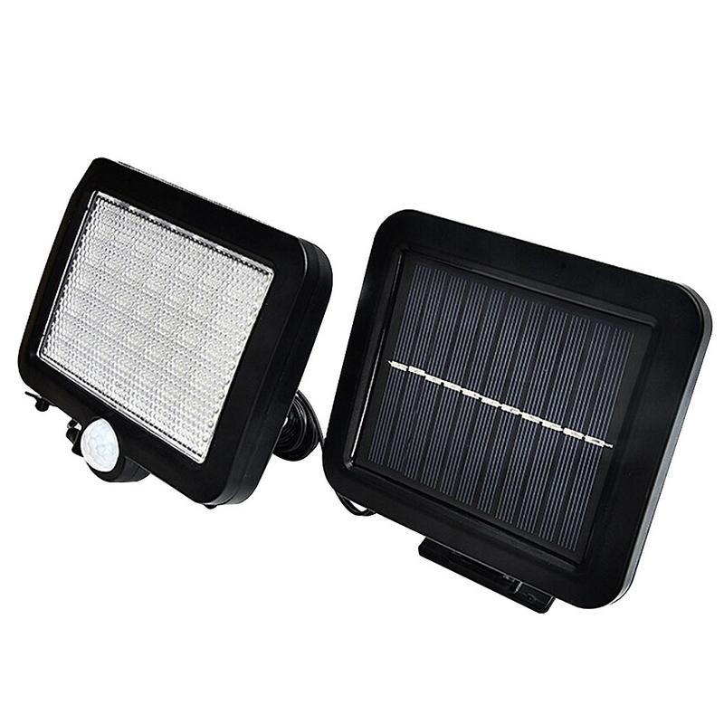 luminarias led solar panel lights lawn spotlight wall lamp new year christmas garland light garden outdoor floodlight decoration 56 LED Solar light PIR Body Motion Sensor garden Lamp High Light outdoor waterproof Lawn Wall Light home Floodlight spotlight