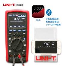UNI-T UT181A medidor de temperatura registro True RMS multimetro Digital DMM w / Re recarregaveis Li EU Plug