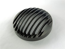 Черный Алюминиевый Фара Гриль Крышка для Harley Harley Dyna Sportster Softail 48 883 1200