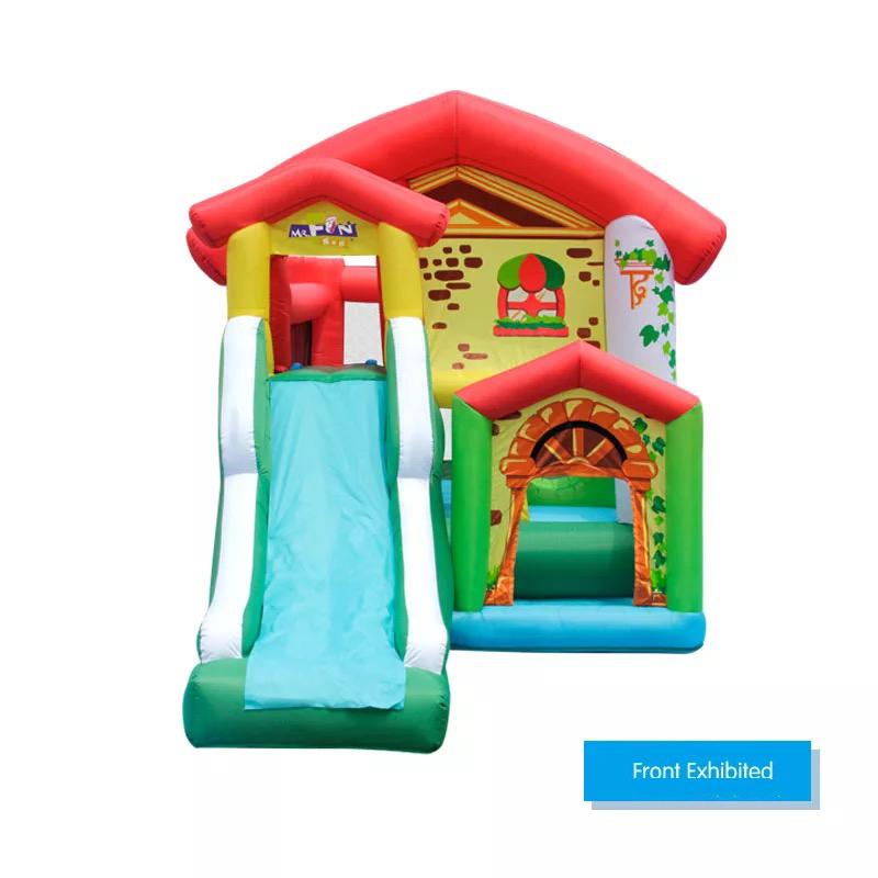 HTB1L.W0PFXXXXbRaXXXq6xXFXXXs - Mr. Fun Residential Inflatable Kids Bouncer Trampoline Bounce House with Blower