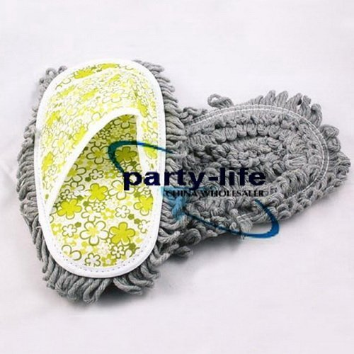 NEW dust floor cleaning mop slippers shoes ,30pcs/lot