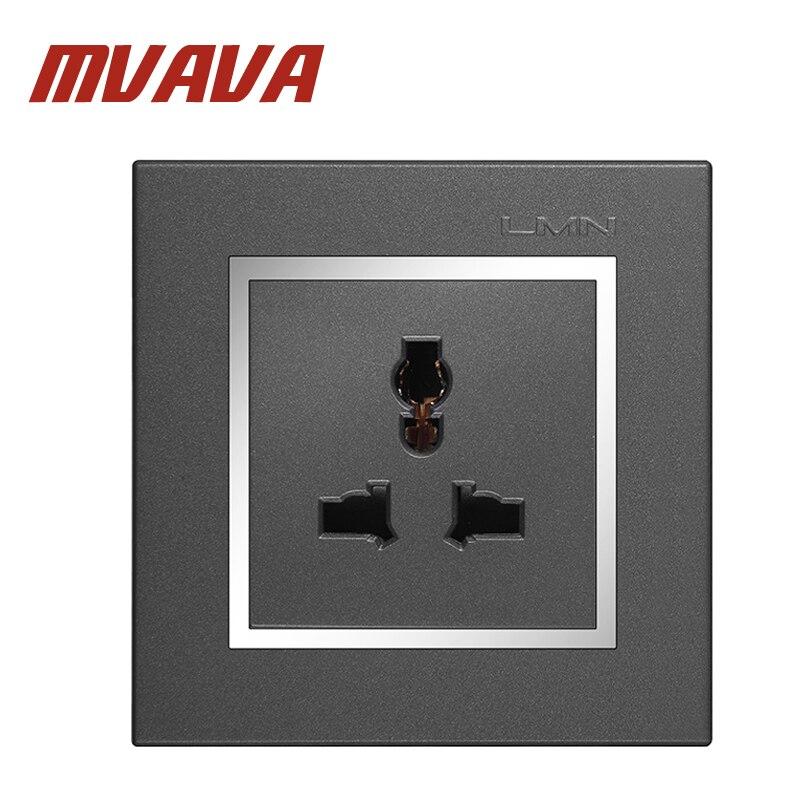 Mvava Multi Functional 3 Pins Wall Socket Electrical