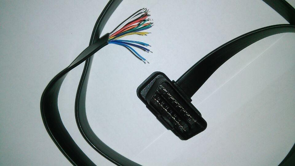 Aramox OBD2 Cable de apertura 16 pines OBD2 Cable de apertura Conector de extensi/ón hembra Adaptador de extensor de diagn/óstico