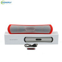 HANGRUI BE13 Bluetooth Speaker Wireless Loudspeaker Portable Speakers Support TF Card Hands Free Audio For PC