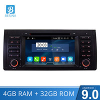 Besina Android 9,0 2 Din автомобильное радио для Porsche Cayenne 2003 2010 4G ram gps Navi Wifi авто аудио Восьмиядерный CD DVD видео плеер