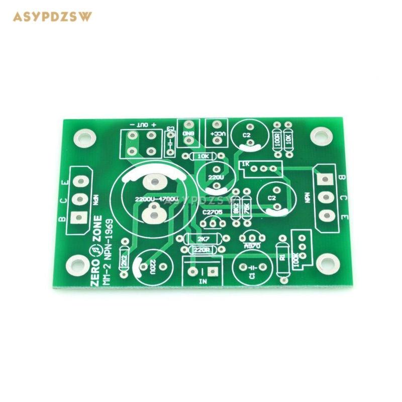 2 PCS Atom BR Version NPN JLH1969 Single-ended Classe A amplificateur de puissance PCB nu (canaux)