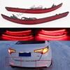 MZORANGE Left And Right Car Red Bar LED Rear Bumper Reflector Lamp Brake Turn Signal Light