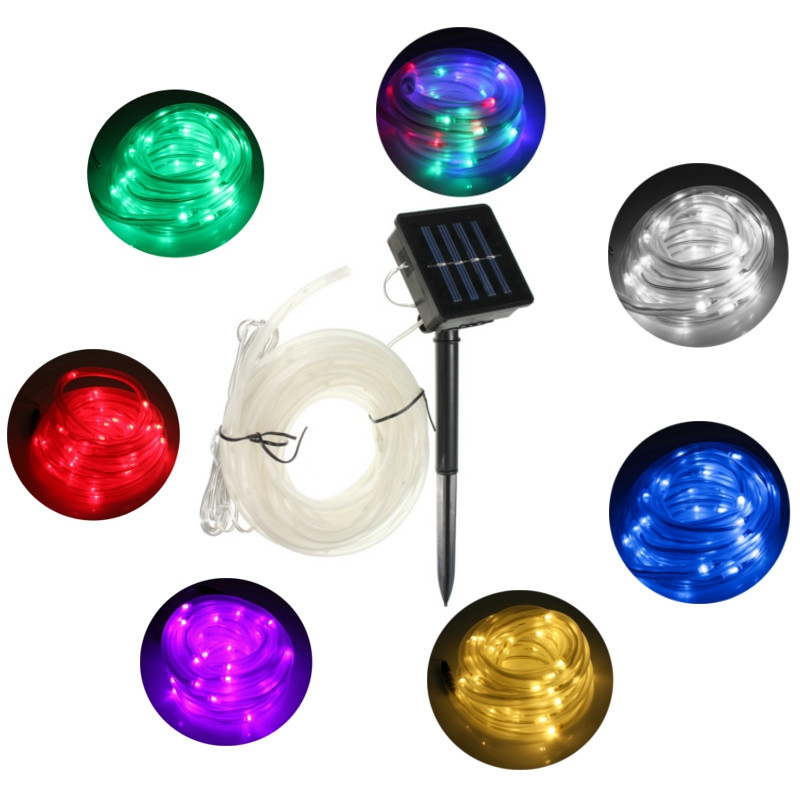 Best Quality Solar String Lights : Online Buy Wholesale solar rope from China solar rope Wholesalers Aliexpress.com