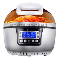 smart 3D  Electric fryer oil-free air fryer Household 10L large-capacity fryer multi-functional French fries machine 220v 1300w