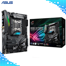 Asus ROG STRIX X299-E Gaming Motherboard Intel X299 ATX gaming motherboard with Aura Sync RGB LED lighting LGA 2066 8xDDR4 128GB