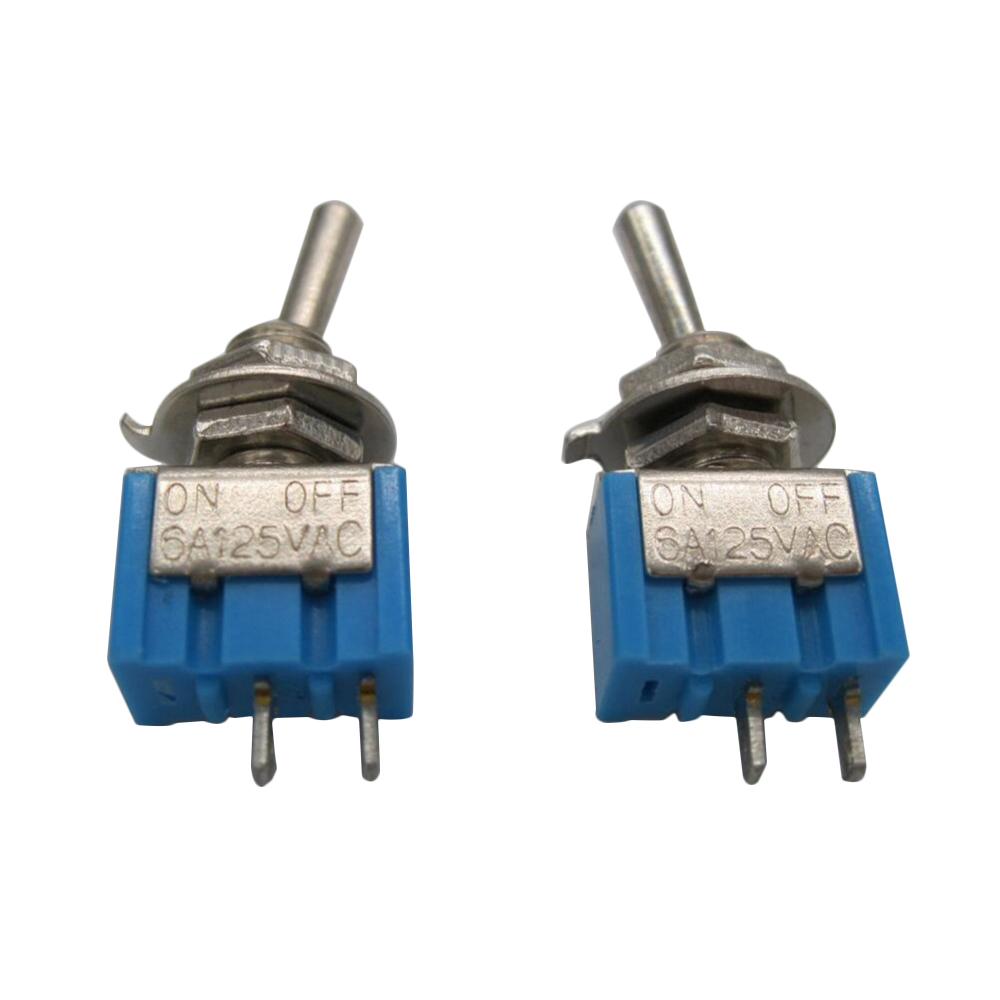 On Off On Mini Toggle Switch Wiredin Rocker Switches From