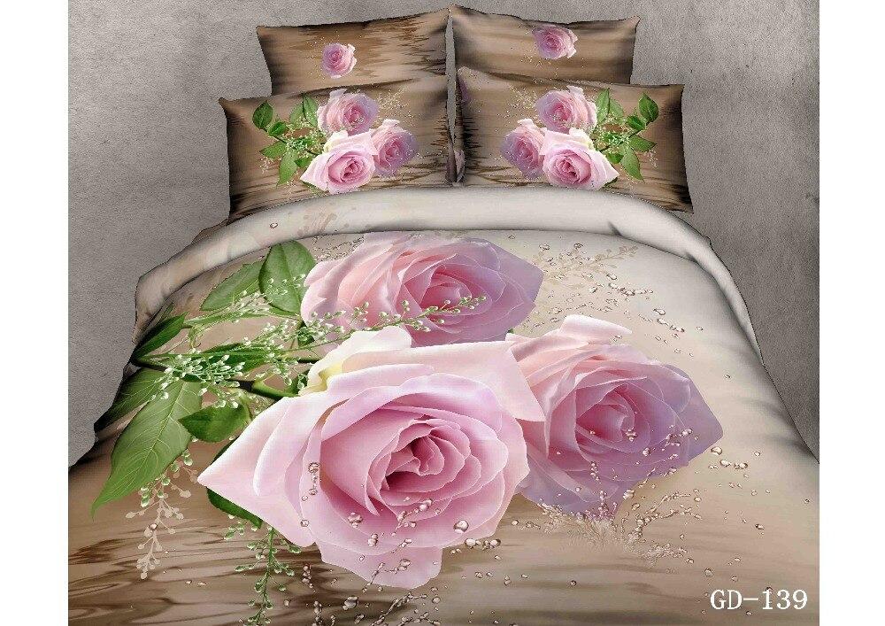 Rose Garden Fitted Bedspread Set