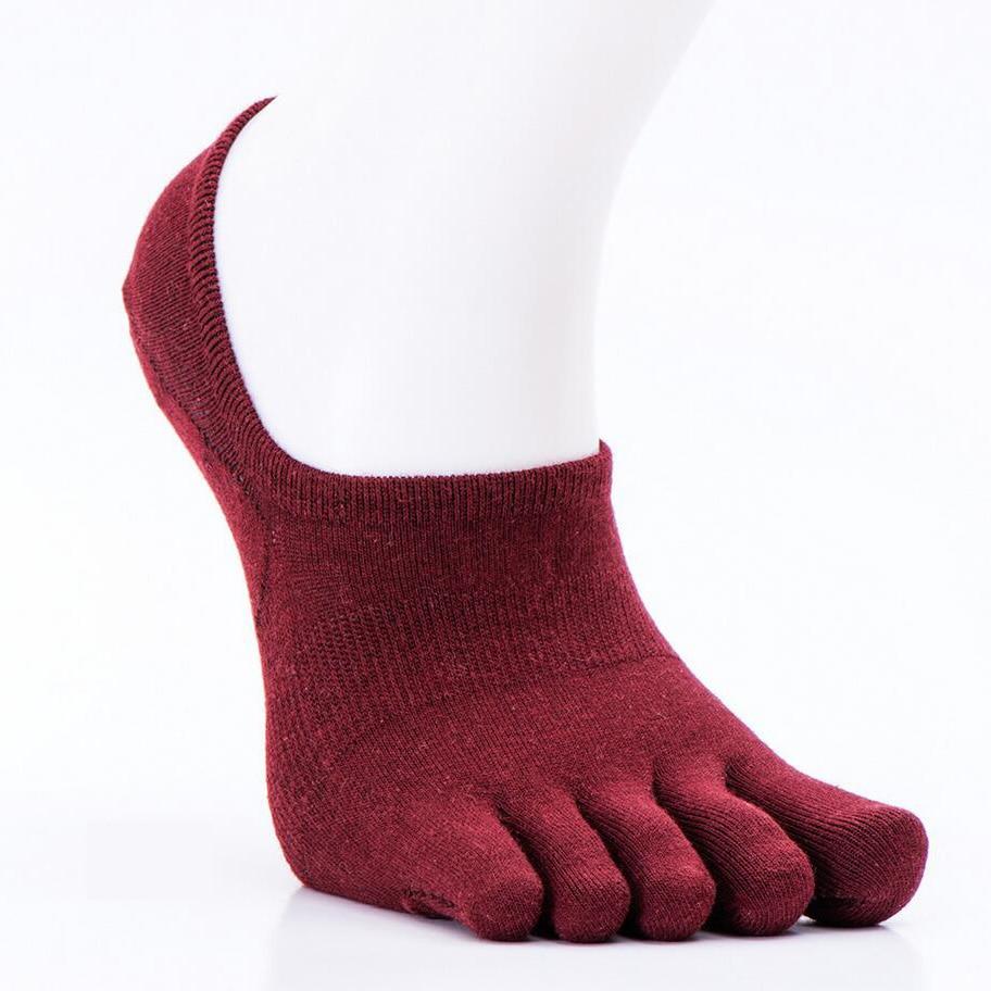 Мужские носки хлопчатобумажные уличные летние весенние мужские спортивные носки лодыжки Пять пальцев Велоспорт Футбол Носки мужские тонкие носки 39-44 1 пара