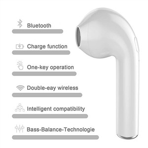 Image 2 - wireless bluetooth earphone ear buds in ear headsets sports  With Charging Case Mic Stereo Headset Compatible iOS Androi Huawei