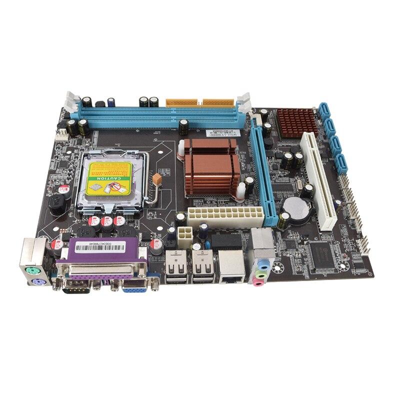 Intel G41 LGA 771 775 desktop motherboard micro-ATX desktop mainboard RAM DDR3 230*170mm 2 years warranty intel g31 micro atx lga 775 ddr2 computer motherboard blue silver