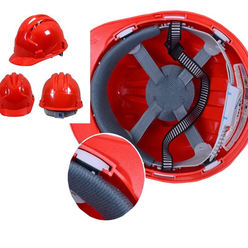 Sicherheit & Schutz Schutzhelm Abs Atmungs Schützen Arbeit Helme Kopfschutz Schutzhelm Bau Schutzhelm Kappe Für Ingenieure Arbeiter