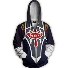 Dwayne game cosplay Coats Men Hoodies jacket with hat anime halloween costumes