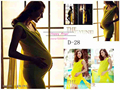 New Maternity Photography Props clothing for pregnant women Dress Pregnancy Yellow set Princess Free shipping