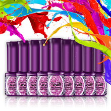VOG Free Shipping 1pcs 6ml Colorful Gel Gel Polish 144 colors for choice Nail Polish Pure Color For Nail Art