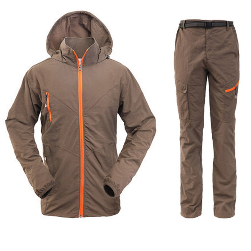 Outdoor Quick Dry Breathable Clothing Set Men Women Spring Summer 2 Pieces Set Sports Jackets Pants Hiking Camping Clothes RM050 arabesque arabesque vii why no reply deluxe edition