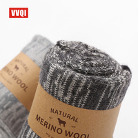VVQI Brand Socks Autumn Winter Merino Wool Socks Warm Cotton Men S Business Socks National Wind