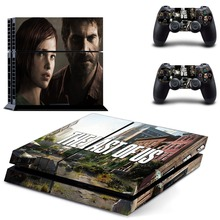 The Last of Us PS4 Skin Sticker for Sony Playstation 4 Console and Two Controller
