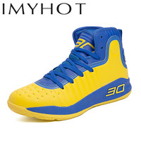 2019 Men Basketball Shoes Curry Same Paragr Breathable Outdoor Sneakers Athletic Training Cushioning Non slip Ankle Sport Boots