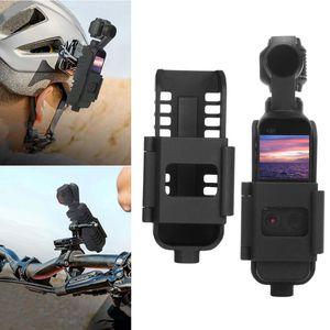 Image 2 - Universal tripé selfie vara bicicleta ação cam suporte de montagem com 1/4 parafuso para dji osmo câmera bolso