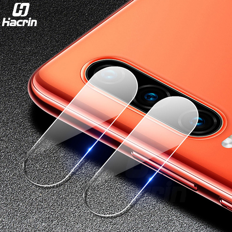 Hacrin 2PC For Huawei P30 Pro Tempered Glass Camera Lens Protective Glass Film Rear Camera Lens Protector For Huawei P30 Lite