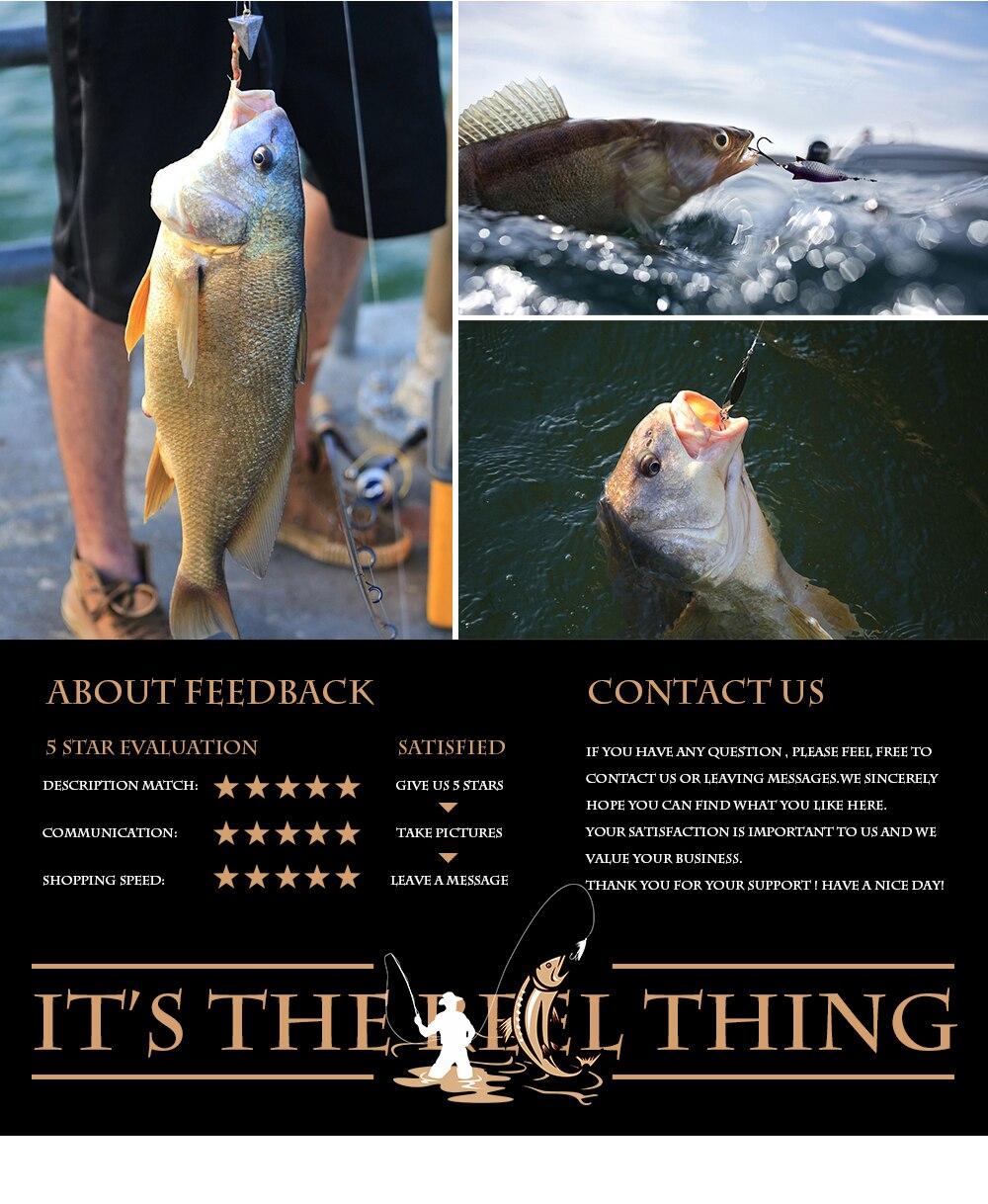 m 2.4 m 2.7 3.0 m 3.6 vara de pesca