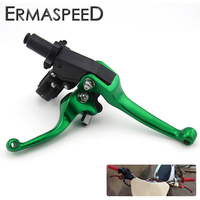 Green Motocross Dirt Bike Pit Bike Racing Brake Clutch Lever ASV 2ND Folding Modified Levers For