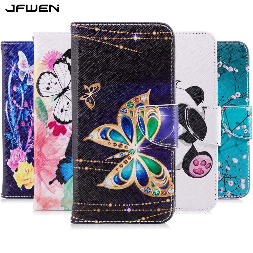 JFWEN Leather <font><b>Case</b></font> For <font><b>Huawei</b></font> <font><b>Y6</b></font> <font><b>2018</b></font> <font><b>Case</b></font> Flip Wallet Cute Phone <font><b>Cases</b></font> For Coque <font><b>Huawei</b></font> <font><b>Y6</b></font> Prime <font><b>2018</b></font> <font><b>Case</b></font> <font><b>Cover</b></font> with Card Slot image