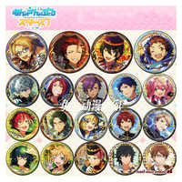 1 stücke 58MM Anime Abzeichen Ensemble Sterne Ritter Trickstar Subaru Sakuma Tori Himemiya Isara Wataru Yuzuru ABZEICHEN Abzeichen Pins BROSCHE