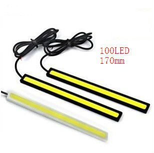 2 X 12V Super Bright White 16W COB LED DRL Driving Daytime Running - Car Lights - Photo 1