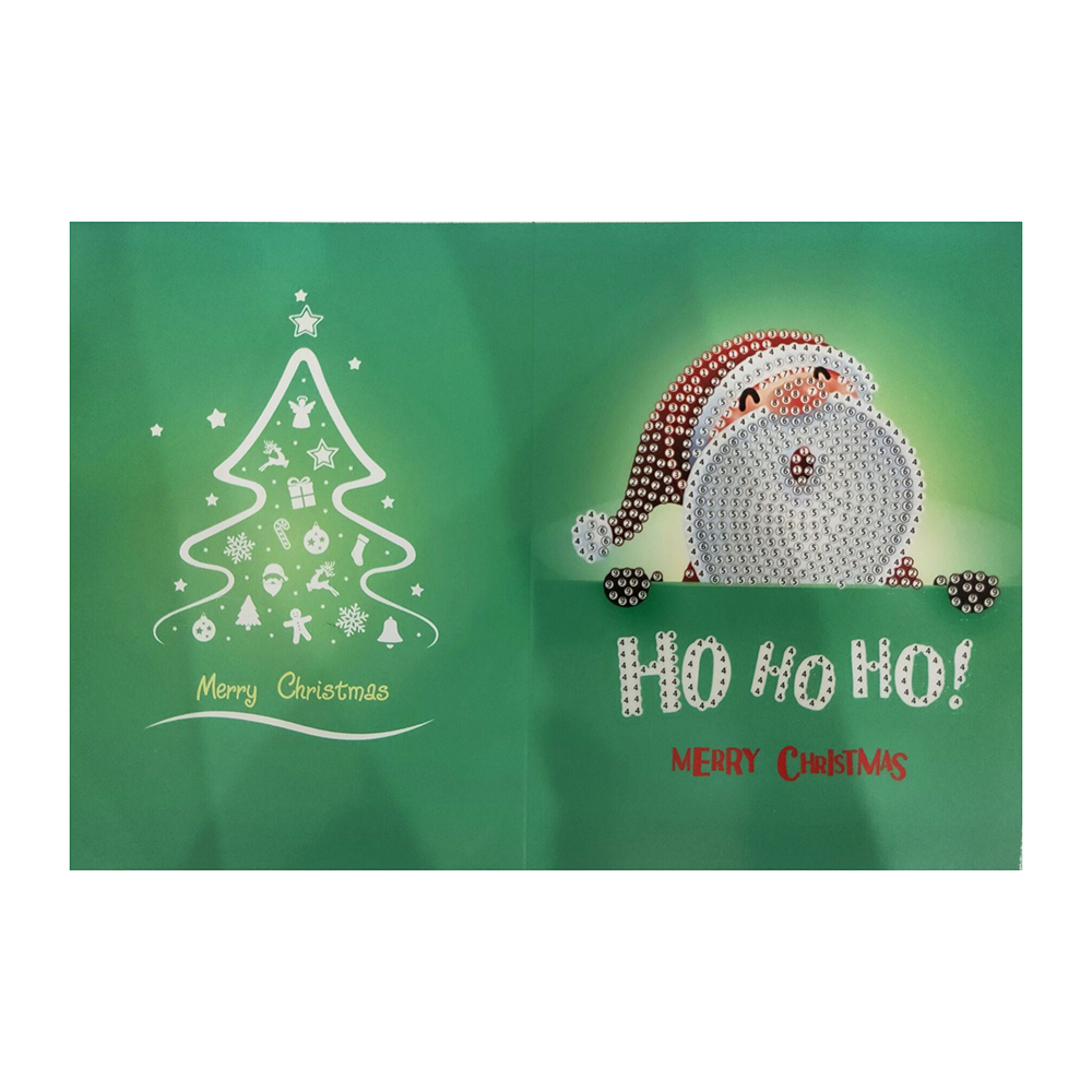 Diamond Painting Christmas Greeting Cards Handmade Embroidery DIY Home Decor new