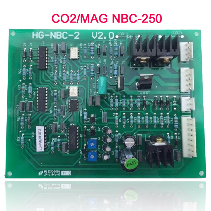 Shanghai engineering star NBC-250 gas shielded welding circuit board уличный настенный светильник paulmann cubi 70164