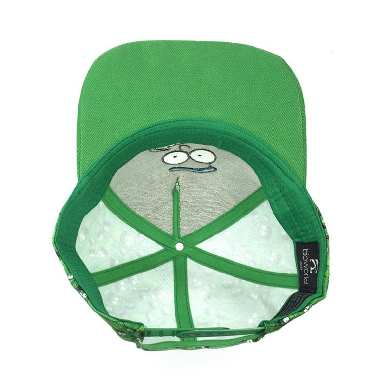 Unisex Adjustable Rick Dan Morty Pickled Rick 3D Plush Toys Baseball - Aksesori pakaian - Foto 3