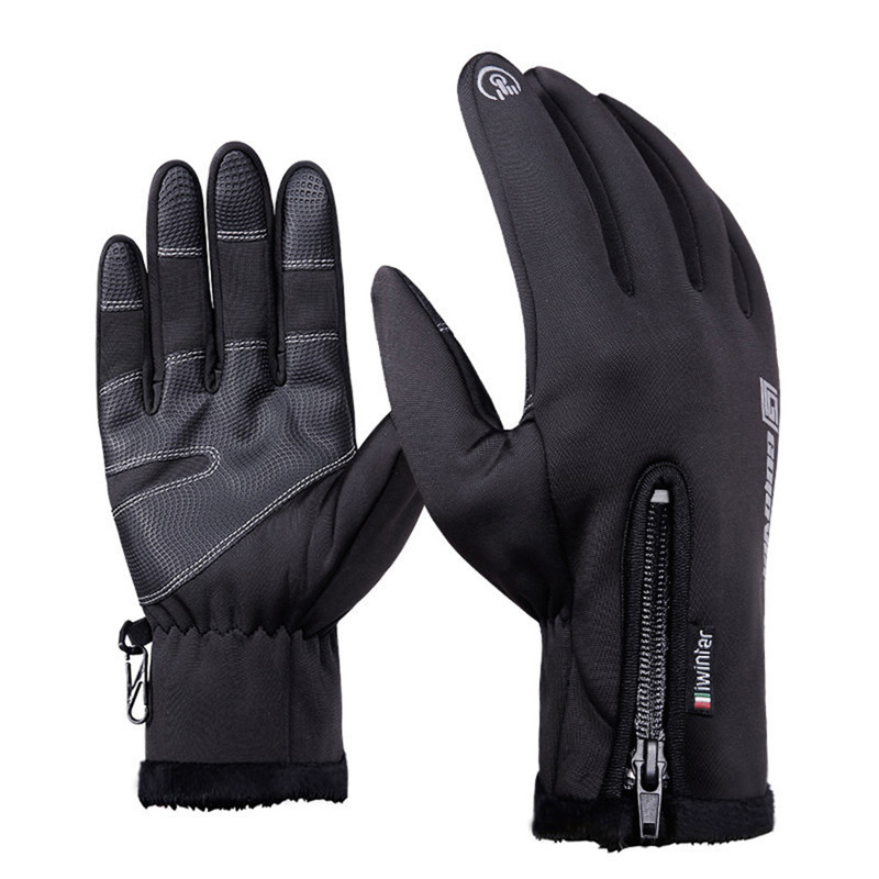 Outdoor Sports Windstopper Waterproof Warm Gloves Riding Full Finger Glove Motorcycle Touch Screen Gloves Men bikein cycling bike sports waterproof soft touch screen glove winter racing warm windstopper gloves s m l xl bicycle accessories