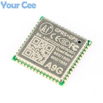 1 unid GPRS GPS módulo a9g módulo sms voz inalámbrica de datos Transmisión IOT