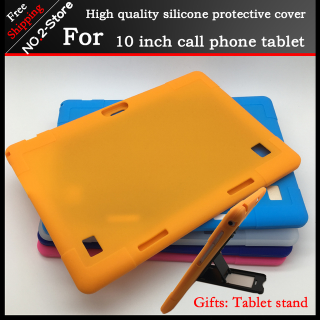 Soft silicone case for BMXC S109 K107 10.1 inch tablet pc ,Kids Safe Shockproof Silicone cover, Tablet stand as gift