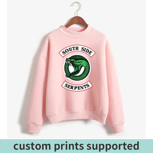2018 Riverdale Hoodies Album Print Sweatshirt Men And Women Pullovers Fashion Style Cool Casual Sudadera Plue Size New Custom