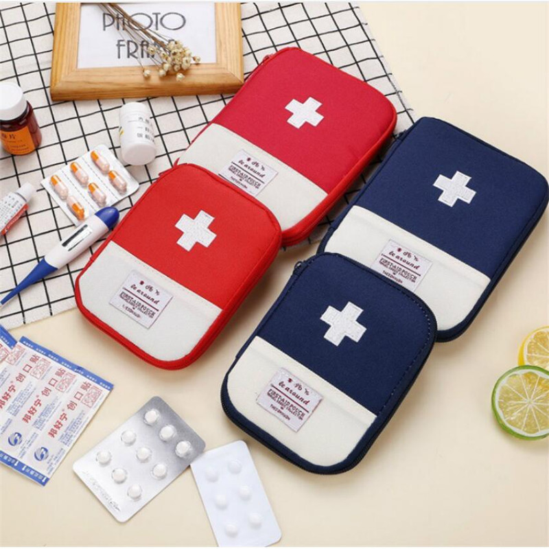 2 Color Outdoor First Aid Kit Bag Travel Mini Medicine Package Emergency Kit Bags Small Medicine Divider Storage Organizer-in Storage Boxes & Bins from Home & Garden on Aliexpress.com | Alibaba Group