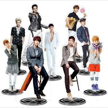 Kpop EXO Members Acrylic Standee Action Figure Doll Sehun Baekhyun Standing Desktop Table Decor